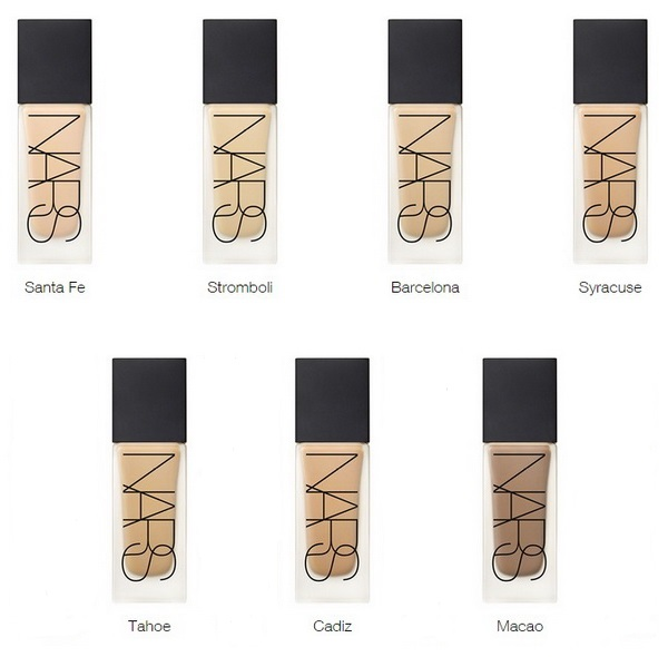 Nars All Day Luminous Weightless Foundation Collection