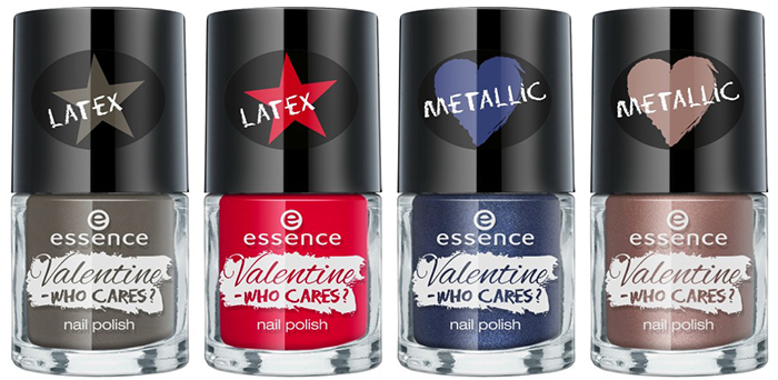 valentine – who cares nail polish