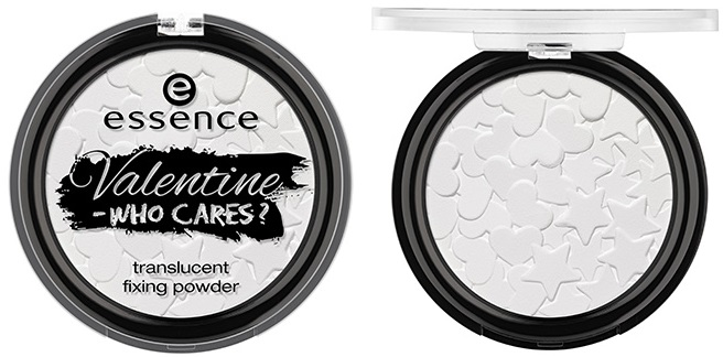 valentine – who cares? translucent fixing powder