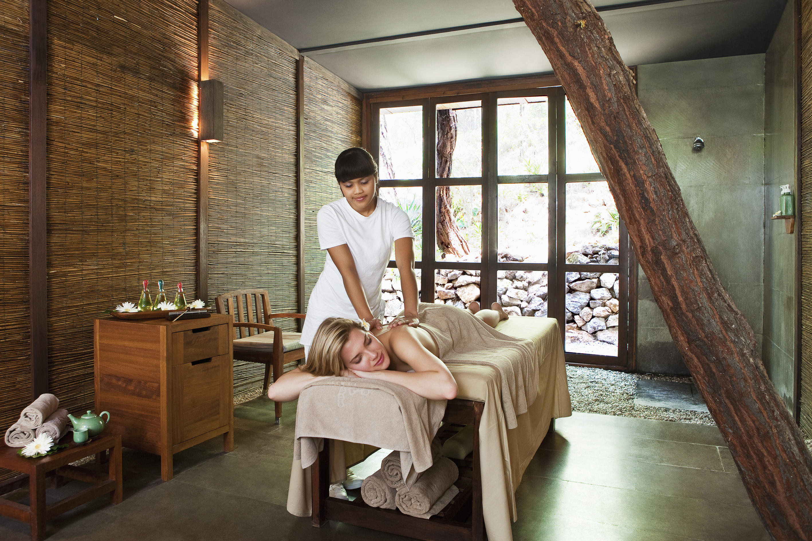 Sanda Nature Spa massage