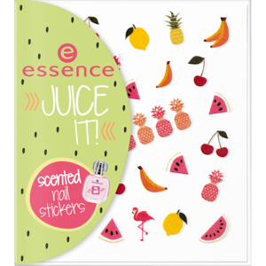 essence juice it! scented nail stickers