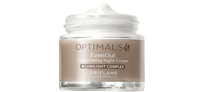 Oriflame Optimals Even Out Rephlenishing night cream