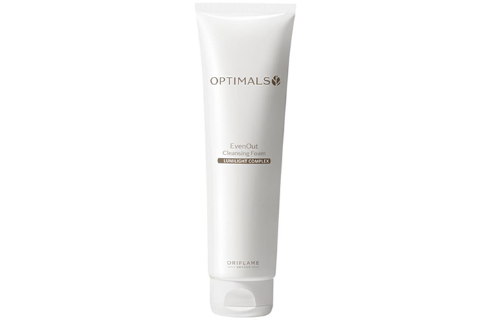 Oriflame Optimals Even Out cleansing foam