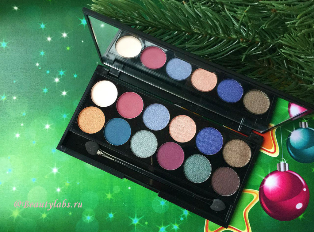 Палетка теней для век Sleek MakeUP i-Divine Eyeshadow Palette