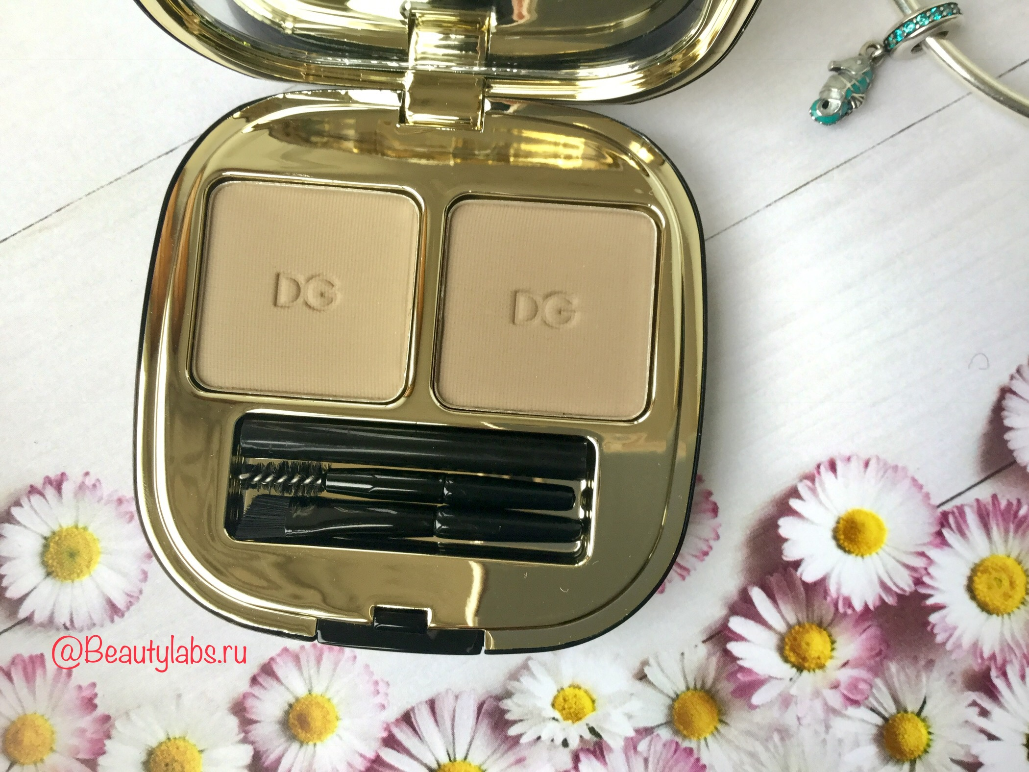 Тени для бровей Dolce&Gabbana Emotioneyes Brow Powder Duo