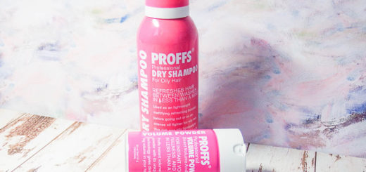 Сухой шампунь Proffs Professional Dry Shampoo For Oily Hair и пудра для прикорневого объема Proffs Volume Powder