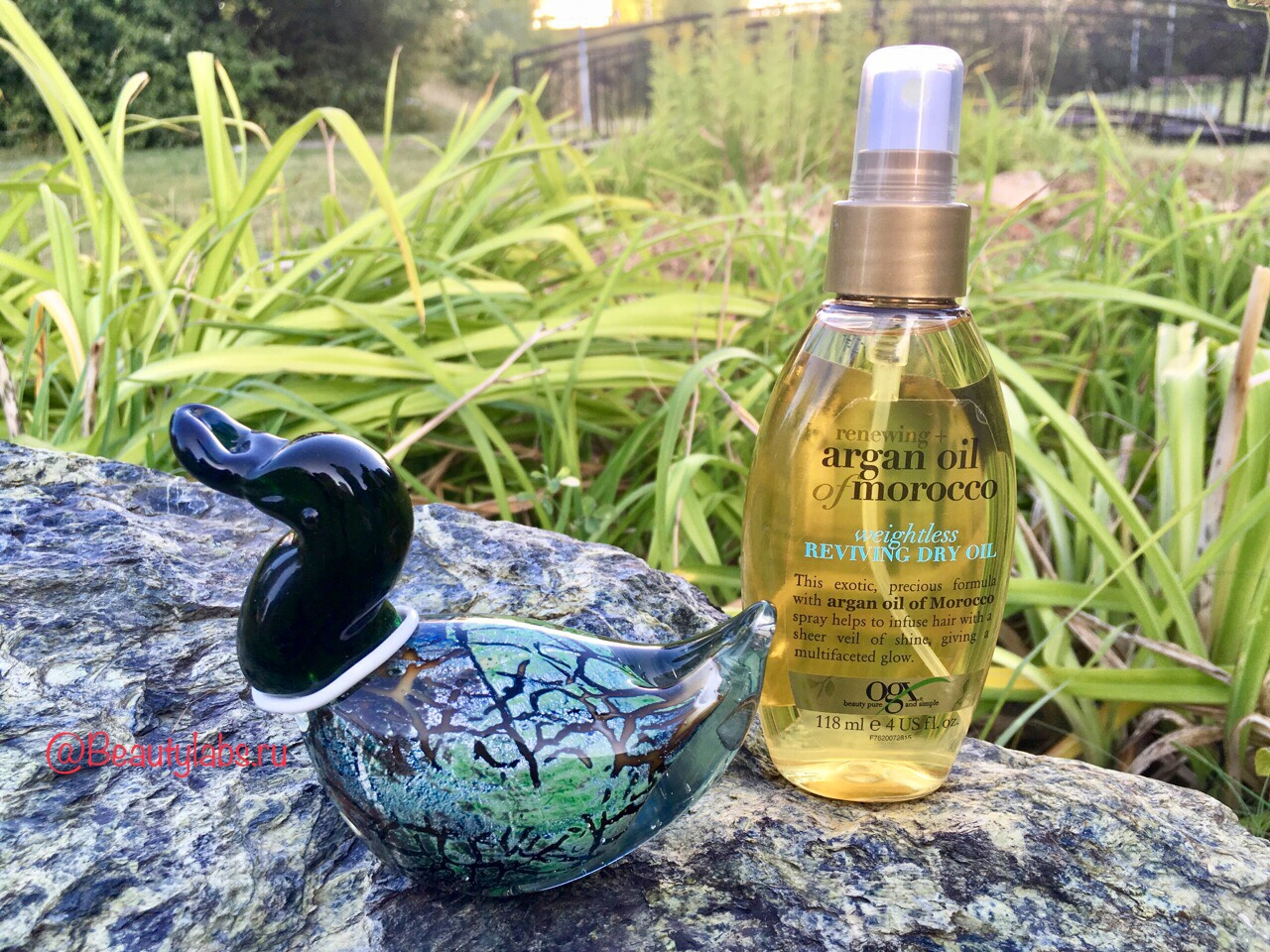 Масло для волос OGX Renewing Argan Oil of Morocco Weightless Reviving Dry Oil