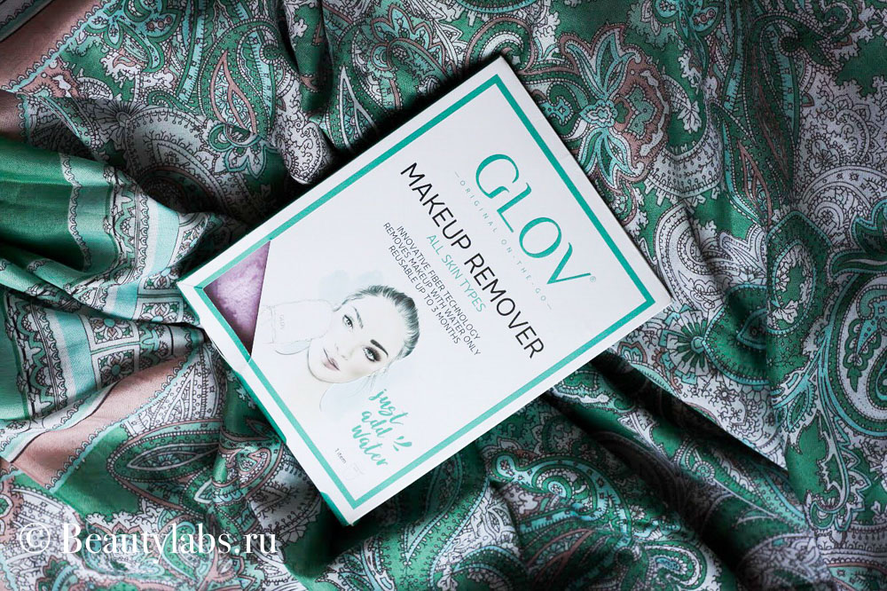 Рукавица GLOV Makeup remover ON-THE-GO