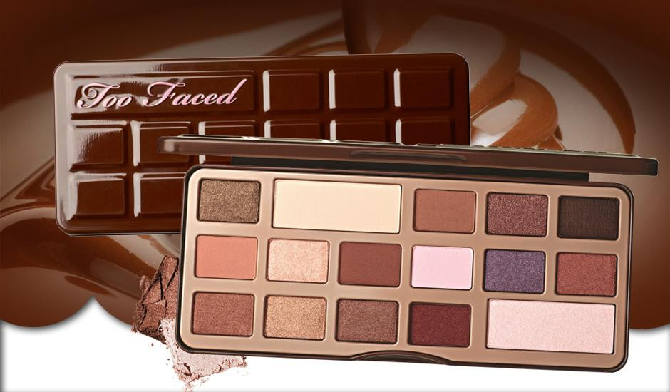 Палетка теней Too Faced Chocolate Bar