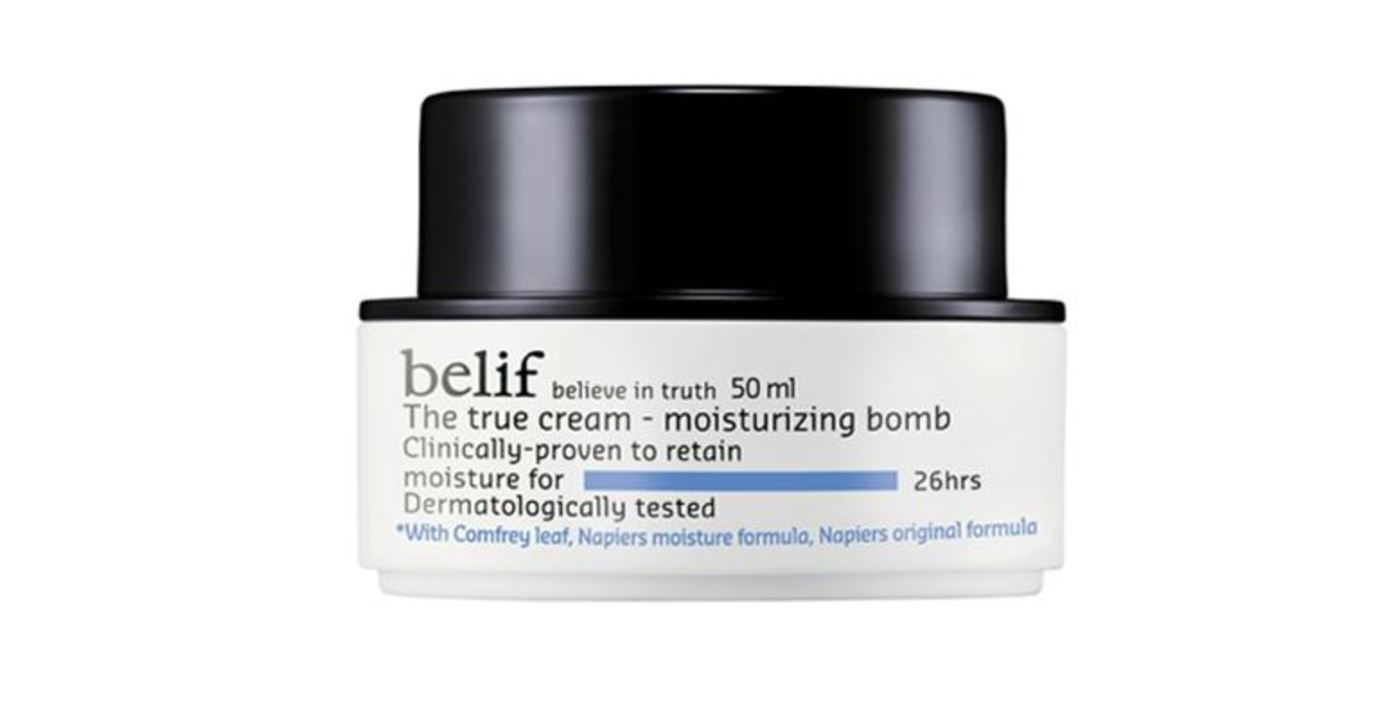 Крем для лица Belif The True Cream Aqua Bomb: тест-драйв