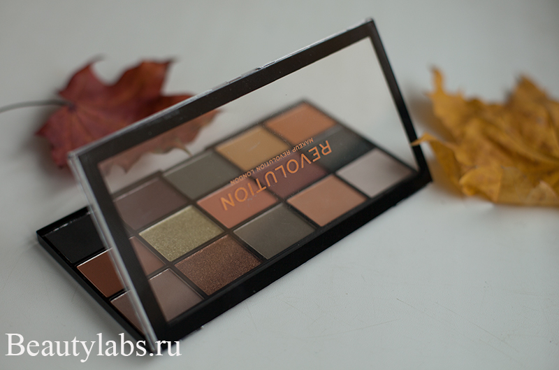 Тени для век make up revolution